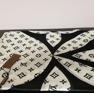 Large Silk Louis Vuitton wrap/scarf